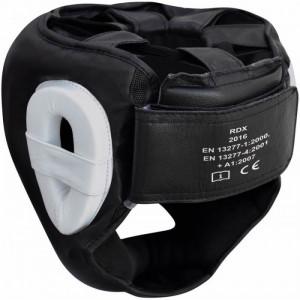 Боксерский шлем с защитой подбородка RDX WB S