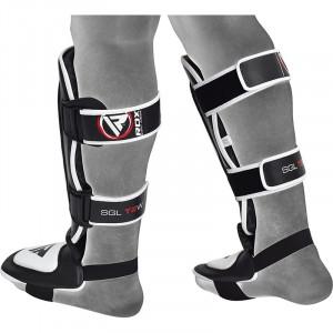 Накладки на ноги, защита голени RDX Leather S