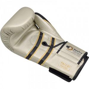 Боксерские перчатки RDX Leather Pearl White 12 oz