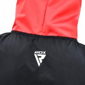 Костюм для похудения с капюшоном RDX Red New р. XXL
