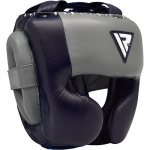 Боксерский шлем RDX Dark Blue р. M