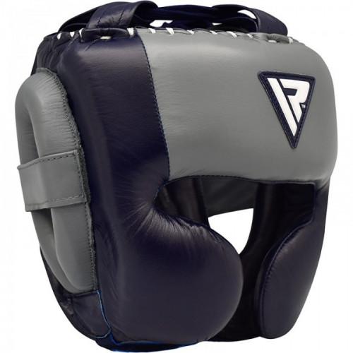 Боксерский шлем RDX Dark Blue р. L