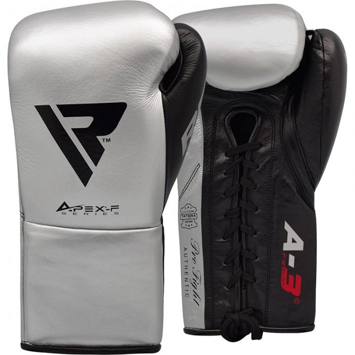 Боксерские перчатки RDX Leather Pro A3 SL/BK 10 oz