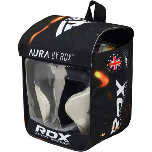Боксерский шлем RDX Aura Golden р. M