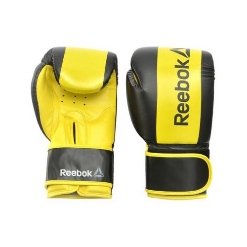 Боксерские перчатки Reebok (RSCB-11112YL) Yellow 12 oz