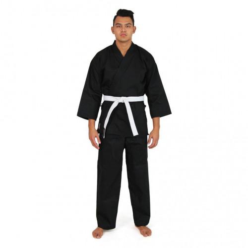 Кимоно для карате SMAI Karate Uniform 8 oz Student Gi (AS-004) Black р. 140