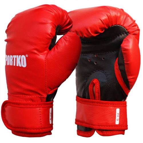 Боксерские перчатки SportKo ПД2 RD 6 oz