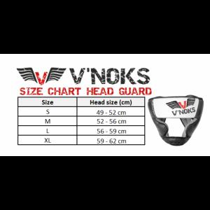 Боксерский шлем V`Noks Aria White р. S