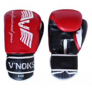 Боксерские перчатки V`Noks Lotta Red 12 oz