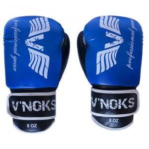 Боксерские перчатки V`Noks Lotta Blue 8 oz