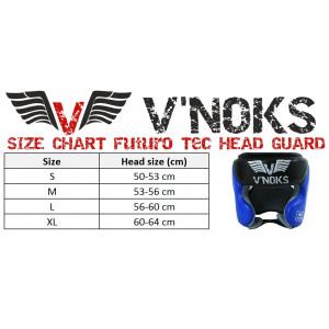 Боксерский шлем V`Noks Futuro Tec р. S