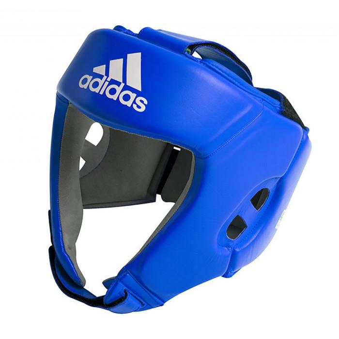 Боксерский шлем Adidas AIBA Blue (AIBAH1) р. L