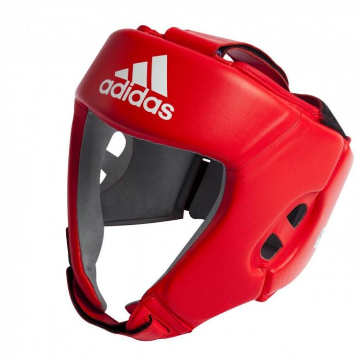 Боксерский шлем Adidas AIBA Red (AIBAH1) р. XL
