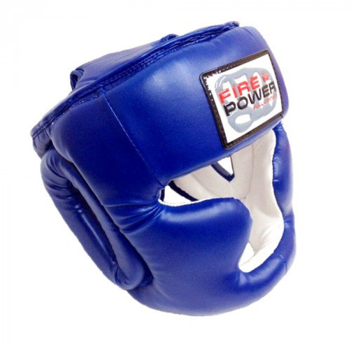 Боксерский шлем FirePower (FPHGA3) Blue р. L