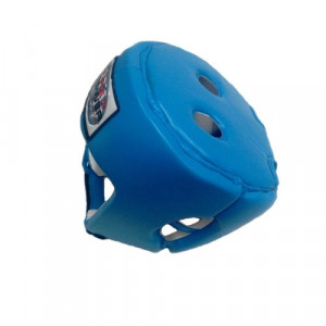 Боксерский шлем FirePower Leather (FPHG2) Blue р. M
