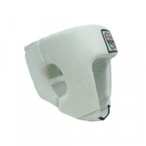 Боксерский шлем FirePower Leather (FPHG2) White р. L