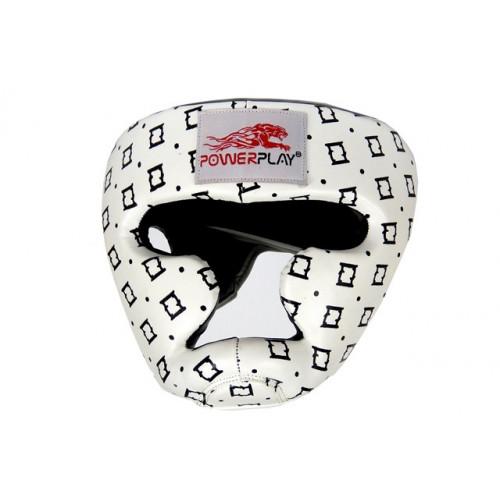 Боксерский шлем PowerPlay (3044) White р. S