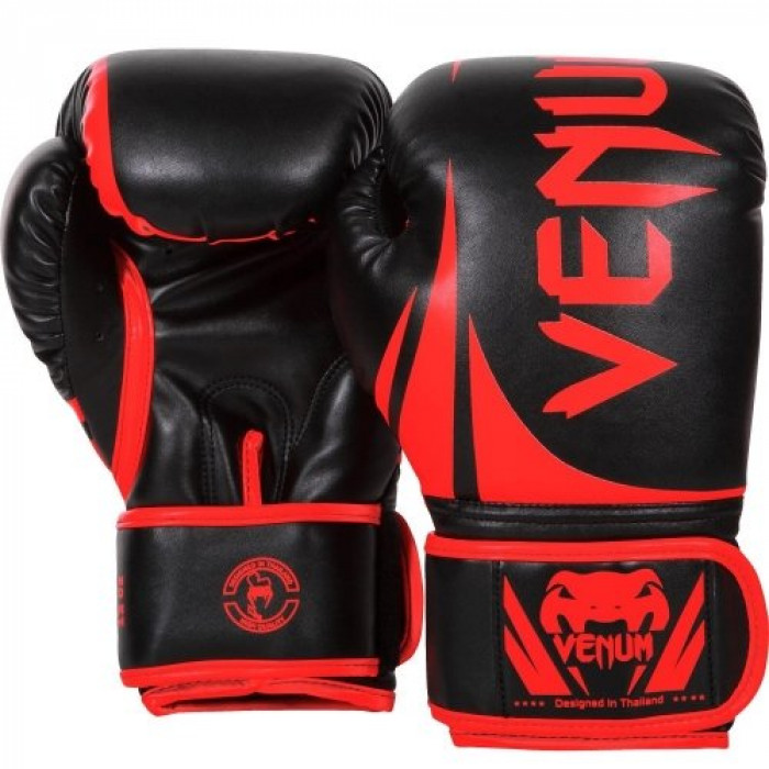 Боксерские перчатки Venum Challenger 2.0 (VENUM-0661-BR) BK/RD 16 oz
