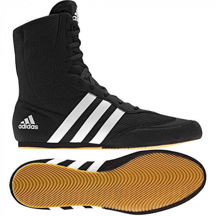 Боксерки Adidas Box Hog 2 BK/YL р. 46.5