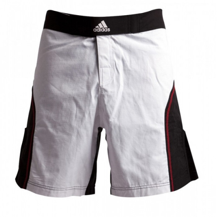 Шорты для ММА Adidas (mma-shorts-1) White р. L