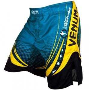Шорты для ММА Venum Lyoto Machida UFC Edition Electron 3.0 Fightshorts (EU-V-UFC-EICN3.0-Blue) Blue р. XL