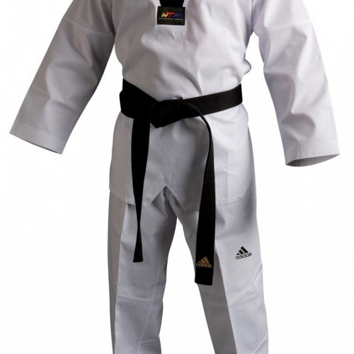 Кимоно для тхэквондо Adidas Club Uniform (WBlack) р. 140