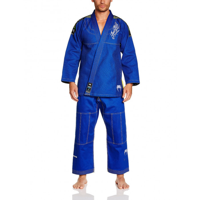 Кимоно для джиу-джитсу Venum BJJ GI Competitor (EU-VENUM-0789) Blue р. A3