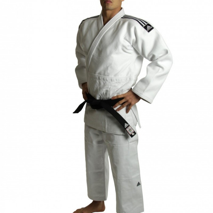 Кимоно для дзюдо Adidas Champion II IJF White р. 185