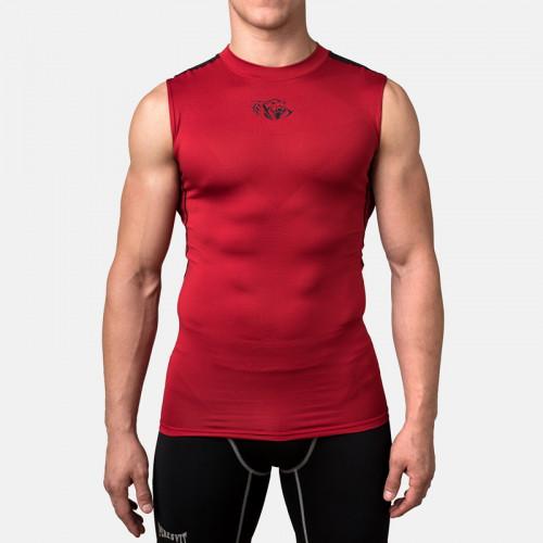 Компрессионная футболка без рукавов Peresvit Air Motion Compression Tank (501006-310) Red Black р. XXL