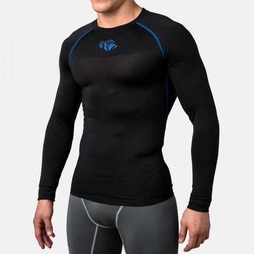 Компрессионная футболка Peresvit Air Motion Compression Long Sleeve T-Shirt (501007-118) Black Blue р. XL