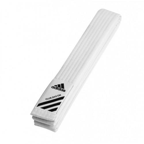 Пояс для кимоно Adidas Club Белый (adiB220) р. 260