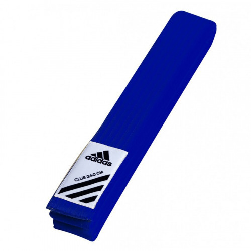 Пояс для кимоно Adidas Club Синий (adiB220) р. 260