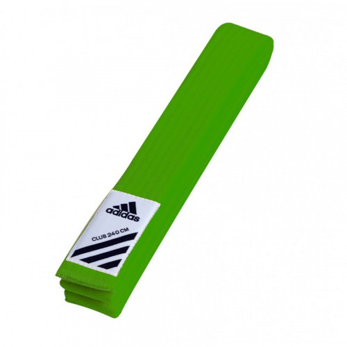 Пояс для кимоно Adidas Club Зеленый (adiB220) р. 260