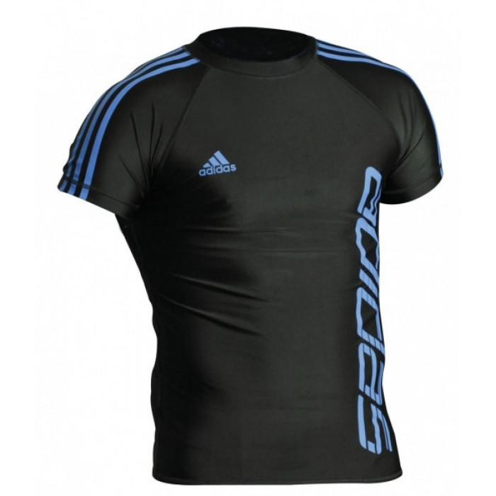 Рашгард Adidas Fighter (mma-rashgard-f) Blue р. L
