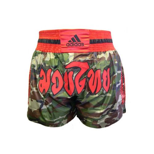 Шорты для тайского бокса Adidas Camouflage (ADISKC01) р. XL