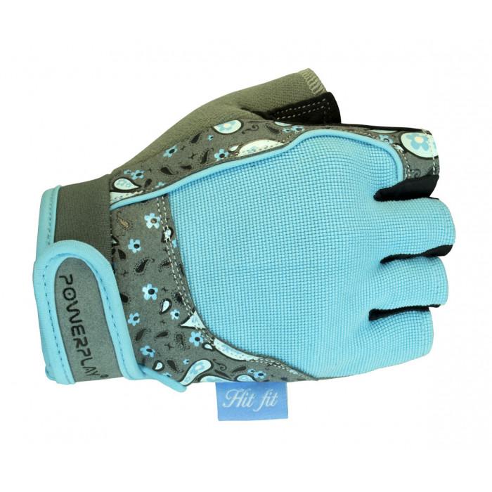 Перчатки для фитнеса PowerPlay (1735) Blue р. XS