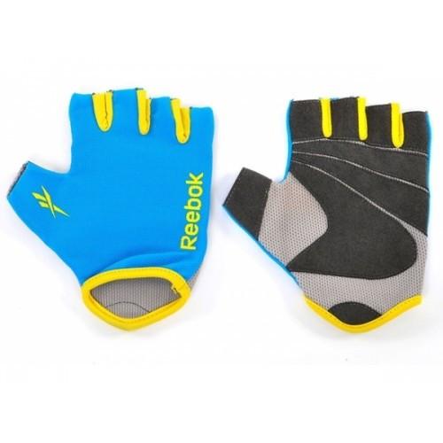 Перчатки для фитнеса Reebok (RAGL-11132CY) р. S