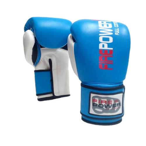 Боксерские перчатки FirePower (FPBG2) Blue 14 oz