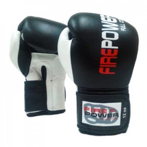 Боксерские перчатки FirePower (FPBGA2) Black 14 oz
