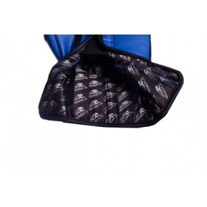 Боксерские перчатки PowerPlay Eagle Series (3002) Blue 12 oz