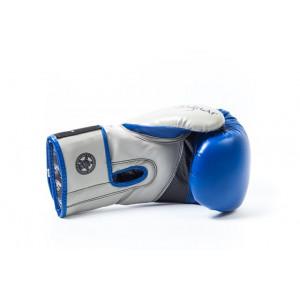 Боксерские перчатки PowerPlay Jaguar - Predator series (3008) Blue 12 oz