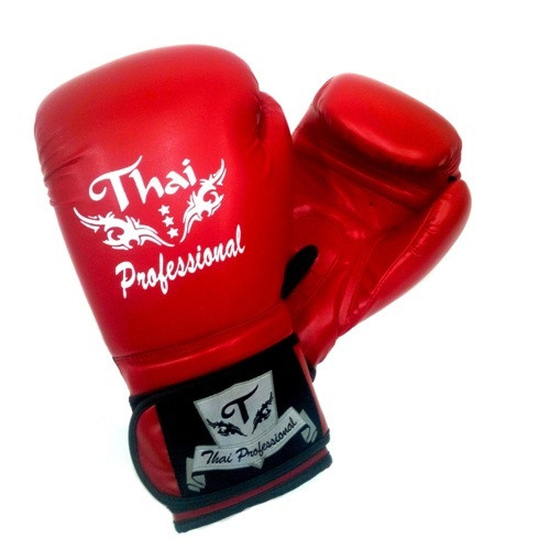 Боксерские перчатки Thai Professional BG3 Red 10 oz