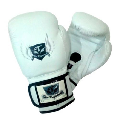 Боксерские перчатки Thai Professional BG5VL White 10 oz