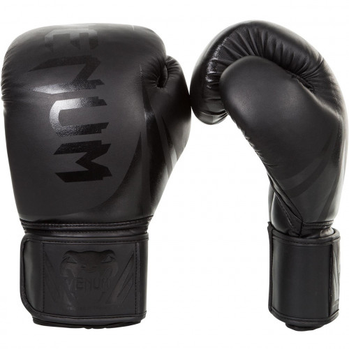 Боксерские перчатки Venum Challenger 2.0 (8668-MBK) Matte Black 16 oz