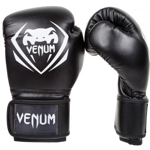 Боксерские перчатки Venum Contender Boxing Gloves (EU-VENUM-8881) Black 10 oz