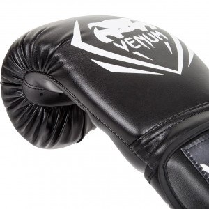 Боксерские перчатки Venum Contender Boxing Gloves (EU-VENUM-8881) Black 8 oz