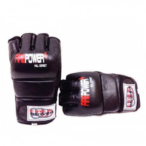 Перчатки для ММА FirePower (FPMG1) Black р. XL