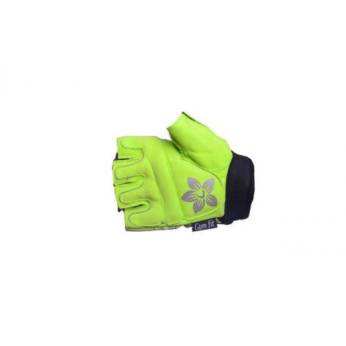 Перчатки для фитнеса PowerPlay (1733C) Green р. M