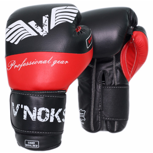 Боксерские перчатки V`Noks Potente Red 14 oz