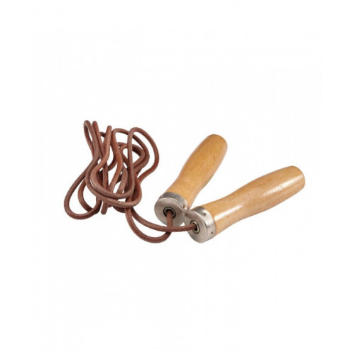 Скакалка LiveUp Jumprope Leather (LS3121) Brown